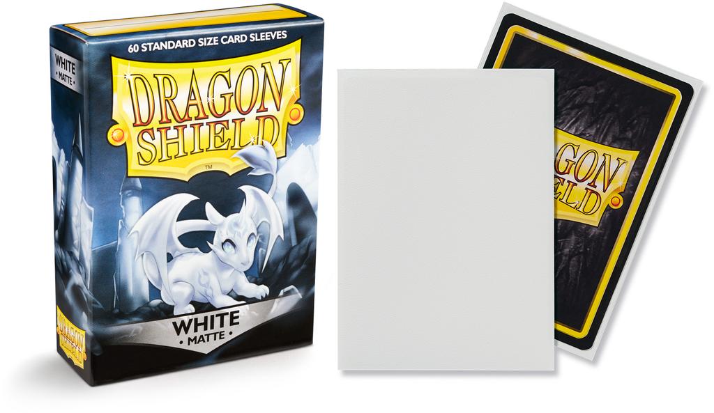 Dragon Shield Matte White (60ct)