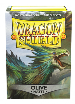 Dragon Shield Matte Olive