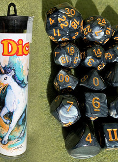 DCC RPG Dice Set: Beaked Unicorn