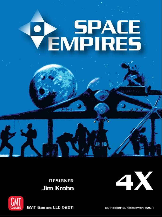 Space Empires 4X Third printing