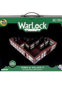 WarLock Tiles: Town & Village II - Full Height Plaster Walls (No Floor Tiles)