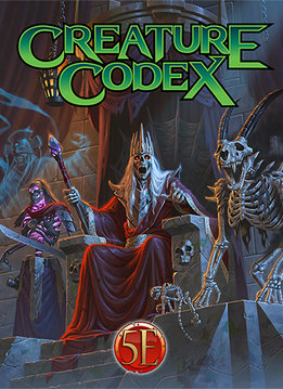 Creature Codex for 5th Edition (HC)