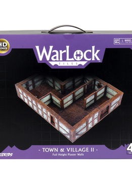 WarLock Tiles: Town & Village II - Full Height Plaster Walls