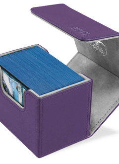 Deck Box: Sidewinder Xenoskin 100+ Purple