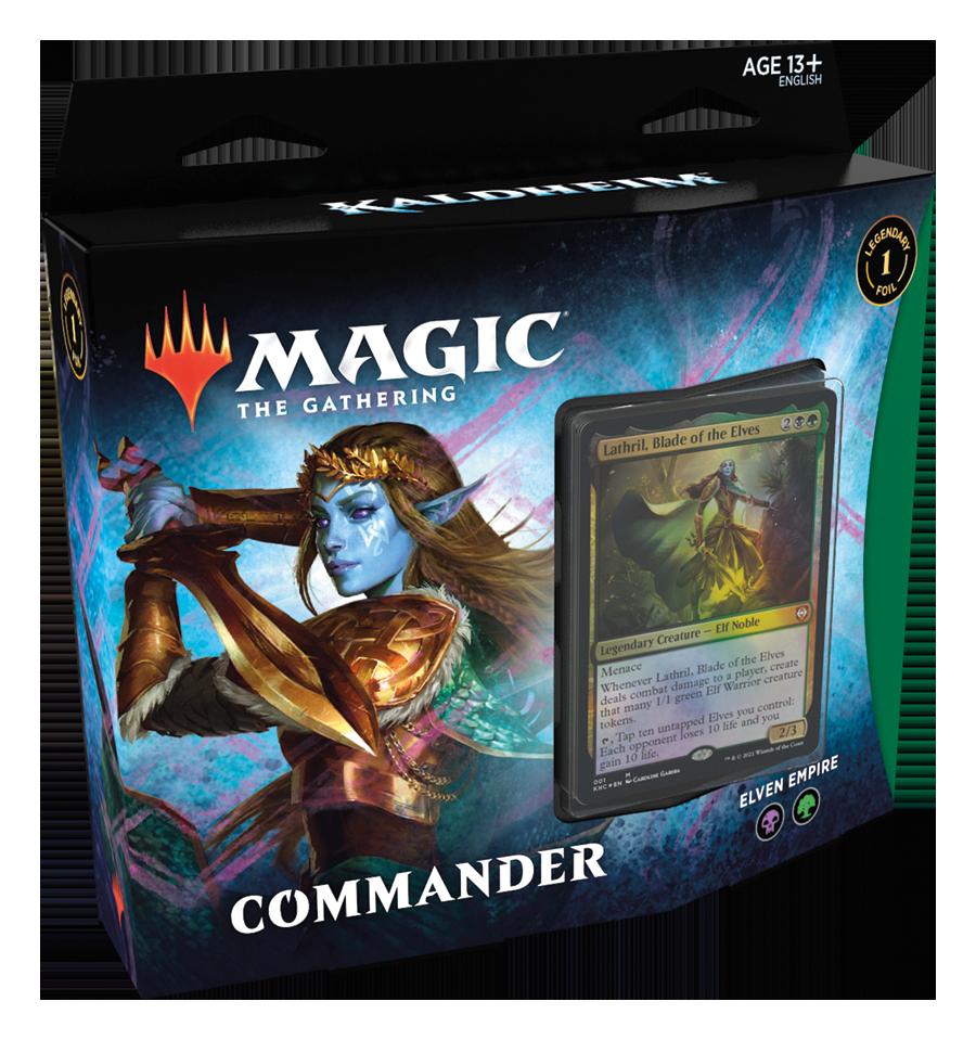 Kaldheim - Commander Deck: Elven Empire (5 février)