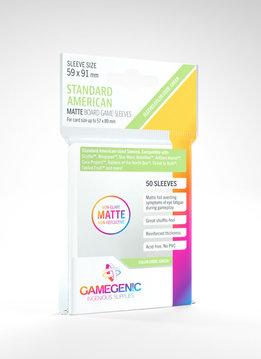 Gamegenic MATTE Sleeves: Standard American (50)