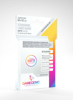 Gamegenic MATTE Sleeves: Standard Card Game (50)