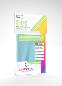 Gamegenic PRIME Sleeves: Standard American (50)