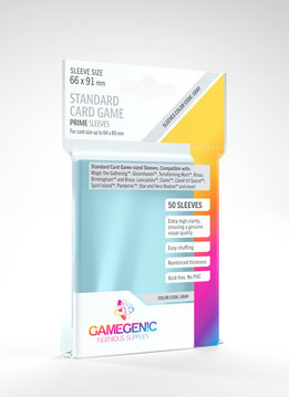 Gamegenic PRIME Sleeves: Standard Card Game (50)