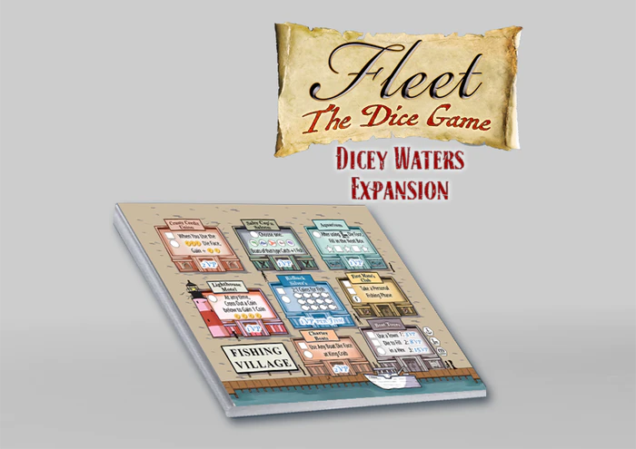 Fleet: The Dice Game - Dicey Waters Exp.