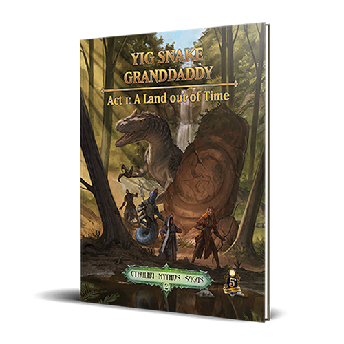 Sandy Petersen's Cthulhu Mythos for 5E: Yig Snake Granddaddy Act 1