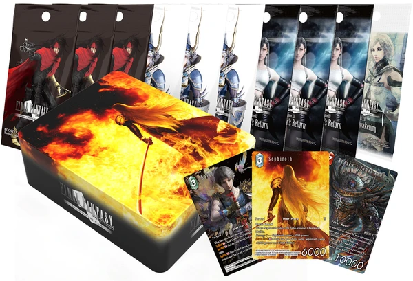 Final Fantasy TCG Tin Gift Set 2