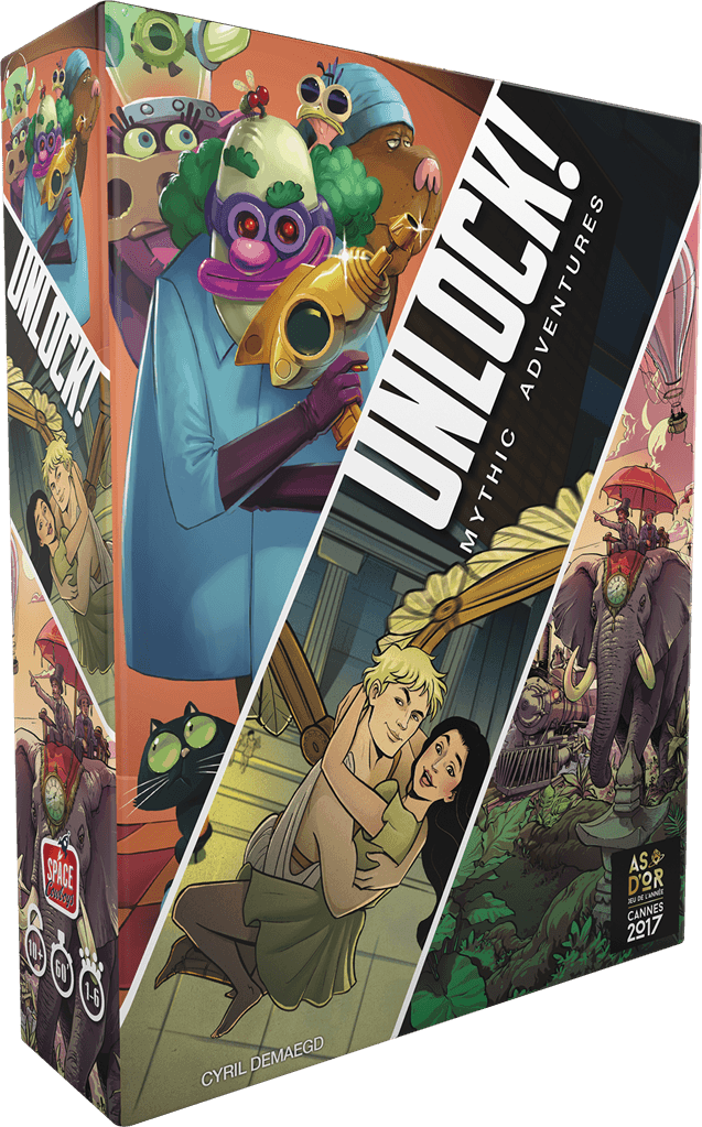 Unlock! 8: Mythic Adventures (EN)