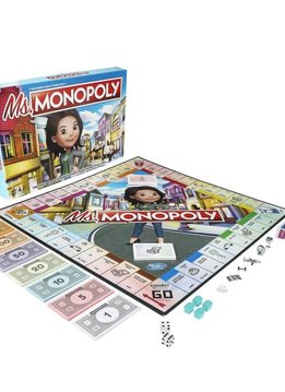 Jeu Ms. Monopoly Version bilingue
