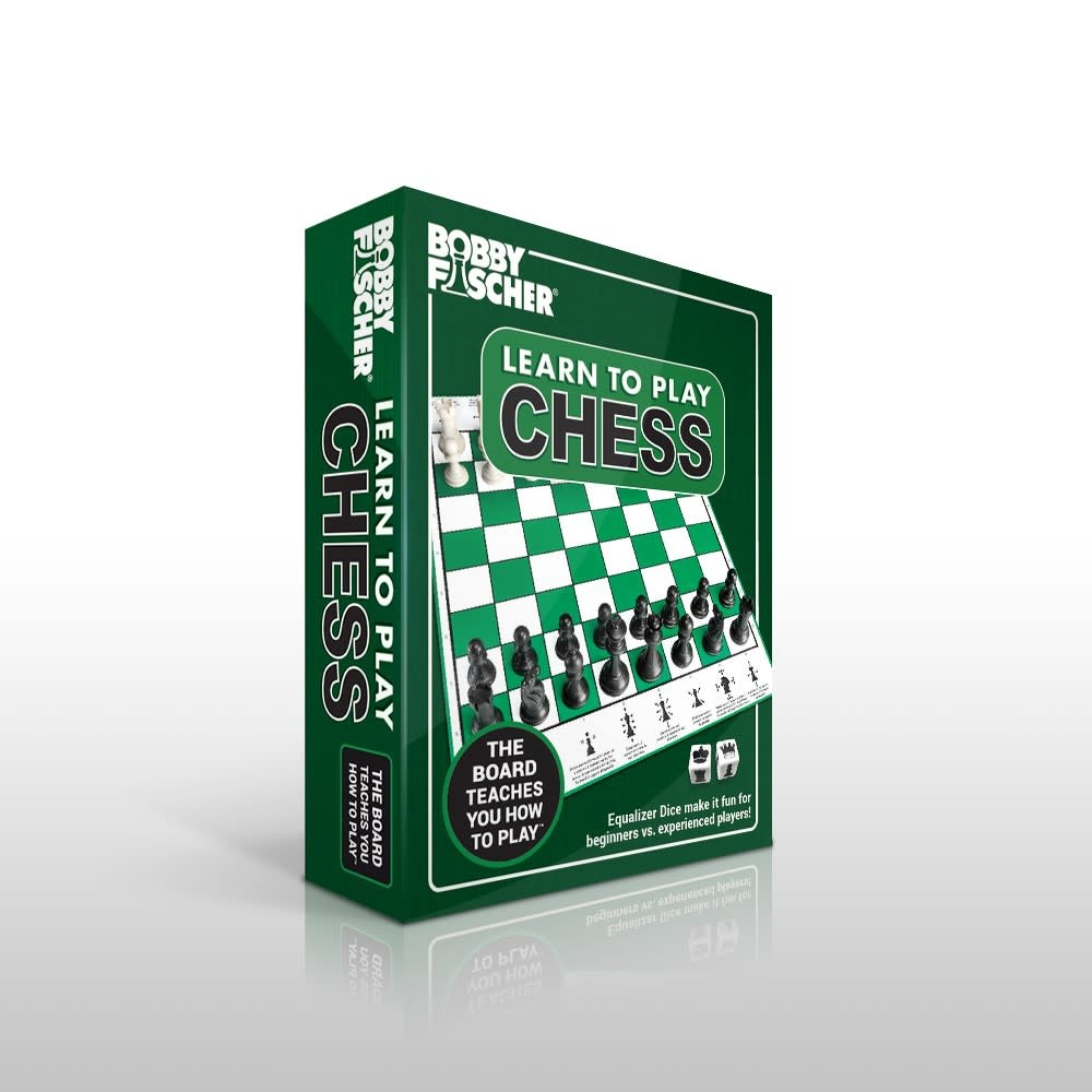 Bobby Fischer Learn to Play Chess Set