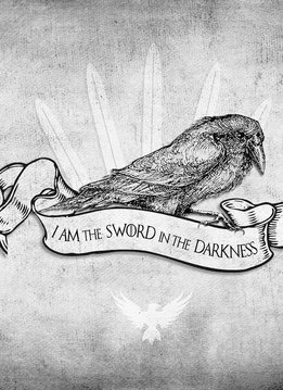 Playmat: Sword in the Darkness