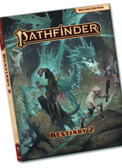 Pathfinder 2E: Bestiary 2 Pocket Edition