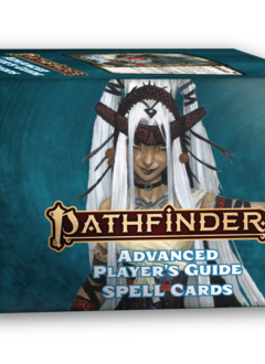 Pathfinder 2E Spell Cards: Advanced Player's Guide