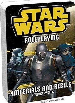 Star Wars RPG: Adversary Deck - Imperials and Rebels III Deck