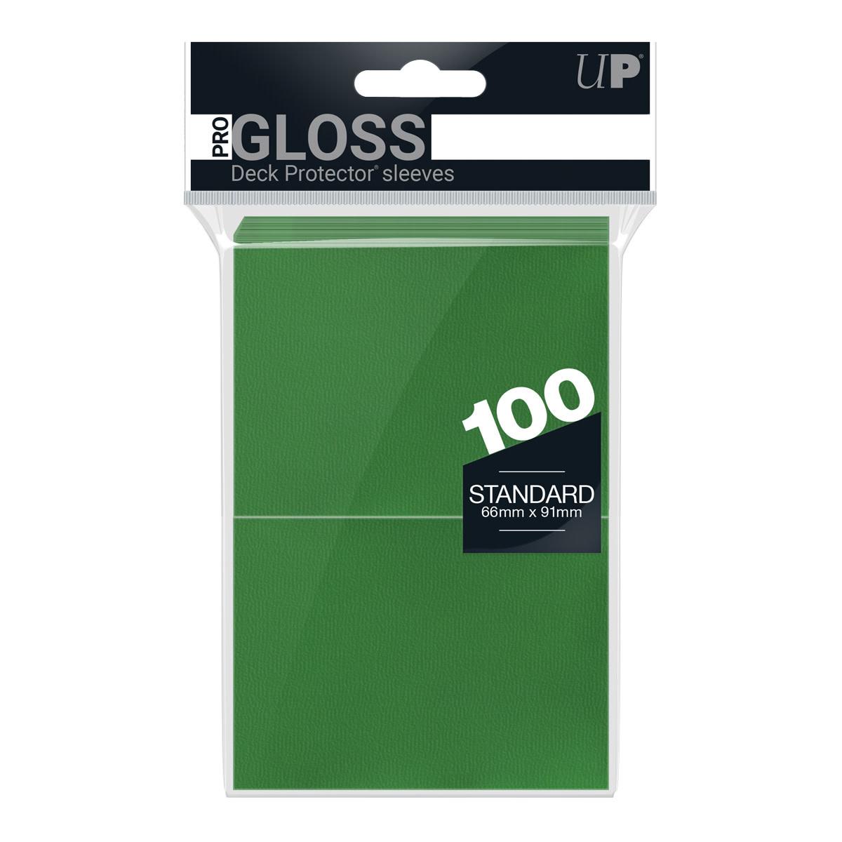 Standard Deck Protector Sleeves - Green (100ct)