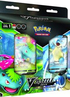 Pokémon V Battle Decks: Venusaur V vs Blastoise V