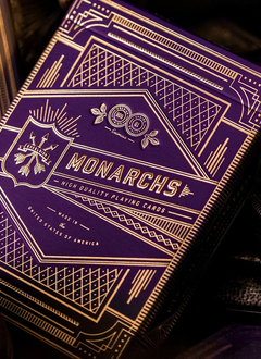 Card Deck: Purple Monarchs