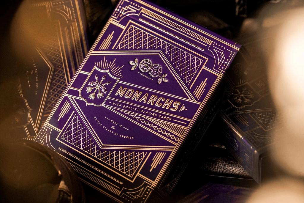 Card Deck: Purple Monarchs
