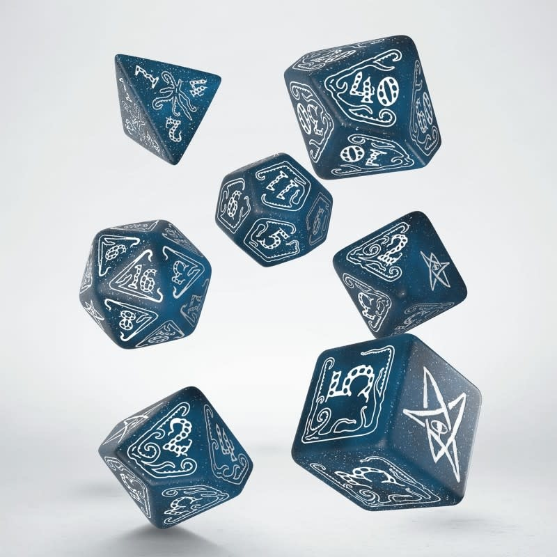 Call of Cthulhu Dice Set: Abyssal & White