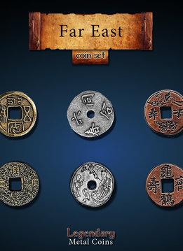 Legendary Metal Coins: Far East (24pcs)
