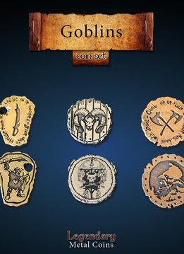 Legendary Metal Coins: Goblins (24pcs)