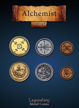 Legendary Metal Coins: Alchemist (24pcs)