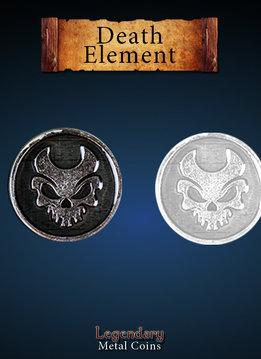 Legendary Metal Coins: Death Element (12pcs)