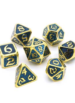 Metal Drakona Dice Set: Khaos Erebus