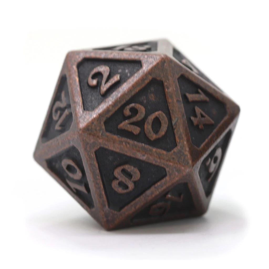 Dire D20: Mythica Dark Copper