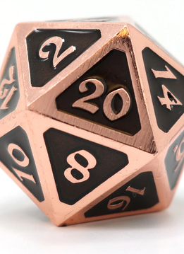 Dire D20: Mythica Copper Onyx