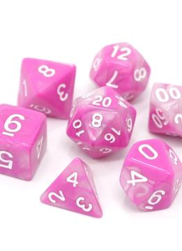 RPG Dice Set: Tickled Pink