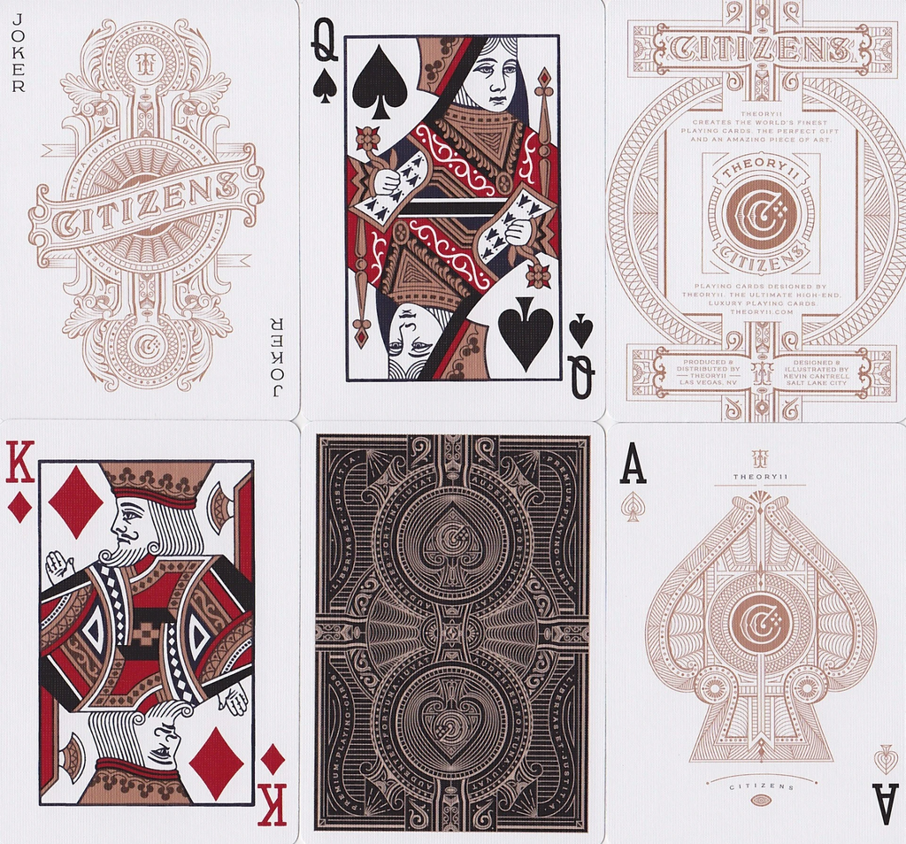 Theory 11 : Card Deck: Citizens
