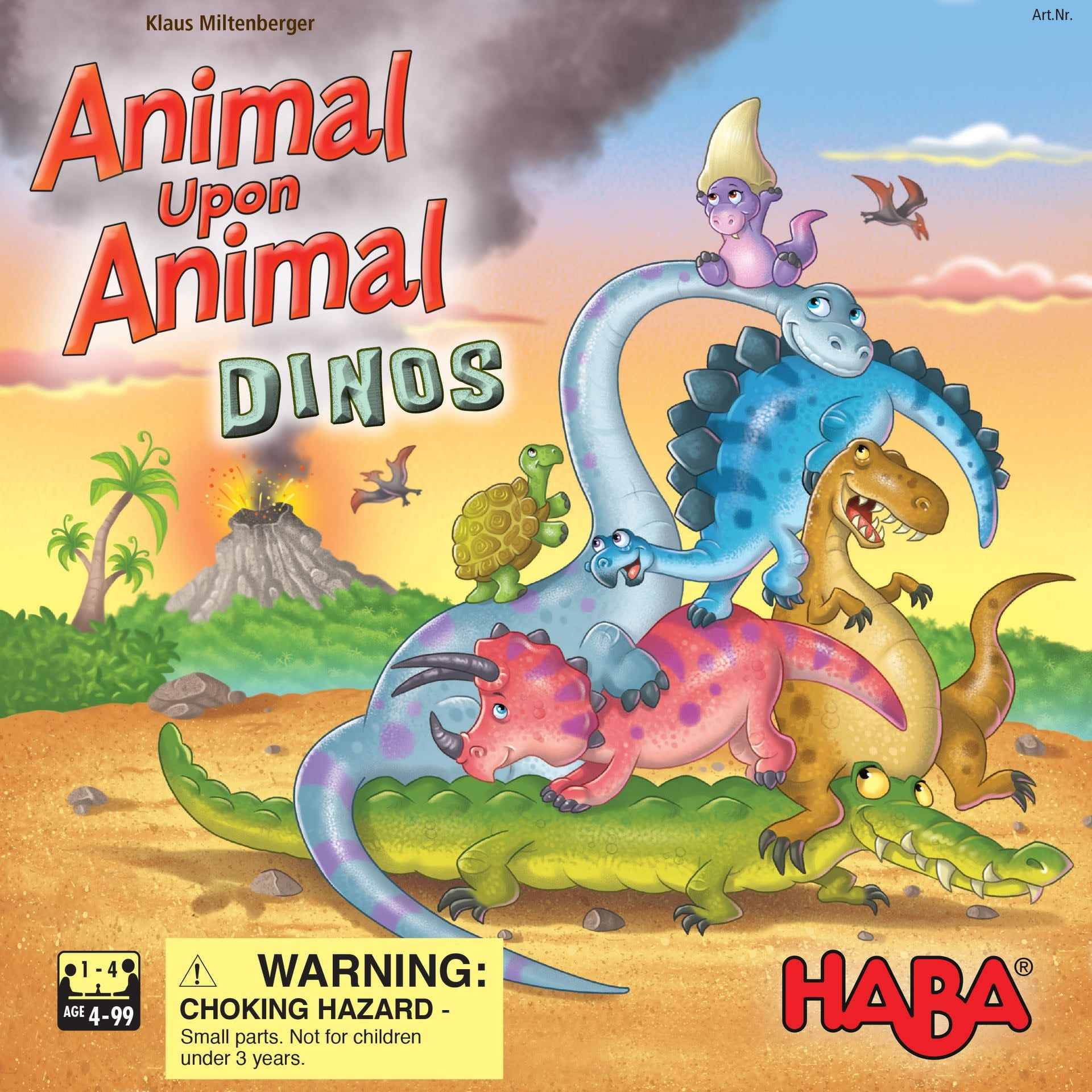 Animal Upon Animal: Dinos (Multi)