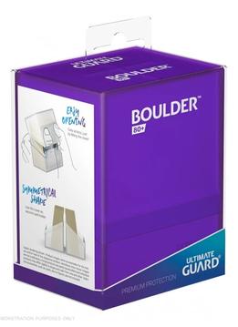 Boulder Deck Case: Standard 80+ Amethyst