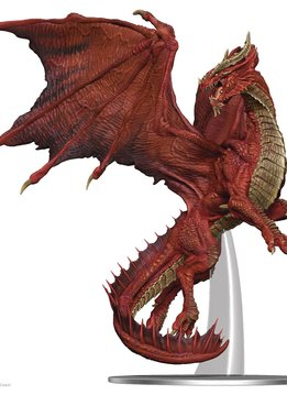 D&D Icons: Adult Red Dragon Premium Miniatures