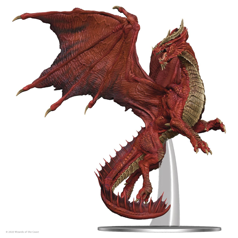 D&D Icons: Adult Red Dragon Premium Miniatures