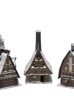 D&D Icons: Icewind Dale - Ten Towns Papercraft Set