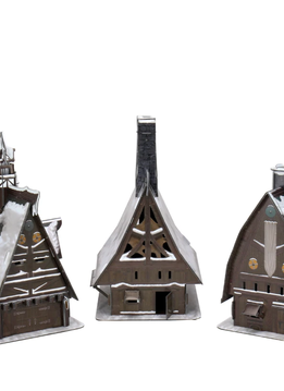 D&D Icons: Icewind Dale - Ten Towns Papercraft Set