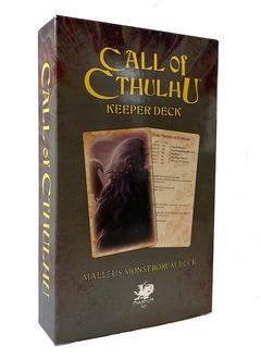 Call of Cthulhu - Keeper Deck: Malleus Monstrorum