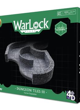 Warlock Tiles: Dungeon Tile III - Curves