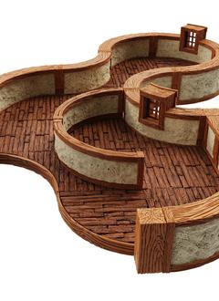 Warlock Tiles: Town & Village III - Curves
