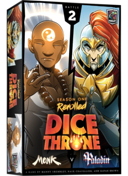 Dice Throne: Season 1 Rerolled - Monk vs. Paladin