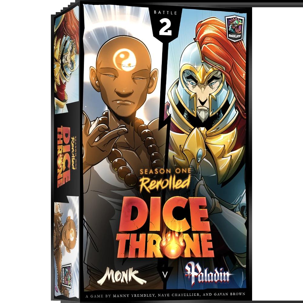Dice Throne: Season 1 Rerolled - Monk vs. Paladin
