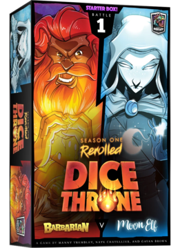 Dice Throne: Season 1 Rerolled - Barbarian vs. Moon Elf