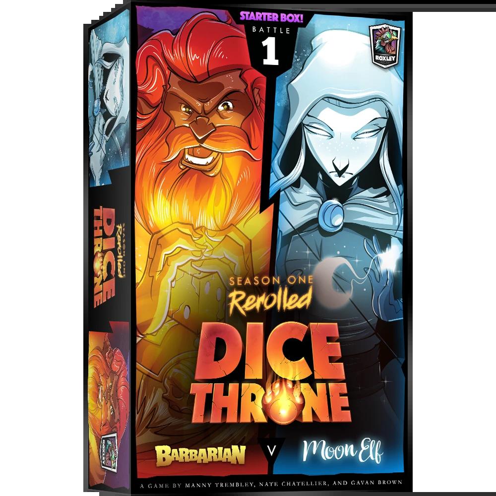Dice Throne: Season 1 Rerolled - Barbarian vs. Moon Elf